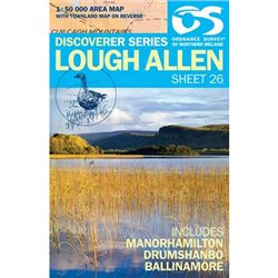 OS Northern Ireland 26 Lough Allen Map