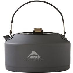 MSR Pika 1L Teapot Ultralight Hard Anodized Aluminum Pot