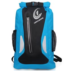 Circle One Unisex Waterproof Dry Bag 25L Vertical Zip Rucksack