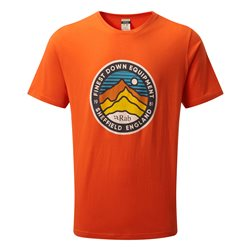 Rab Mens Stance 3 Peaks SS Tee Base Layer