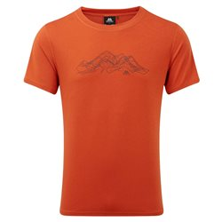 Mountain Equipment Mens Groundup Mountain Tee Base Layer