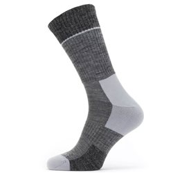 Sealskinz Unisex Solo QuickDry Mid Socks