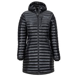Marmot Womens Long Avant Featherless Insulated Jacket (Options: S Black, XL Black)