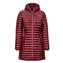 Marmot Womens Long Avant Featherless Insulated Jacket (Options: XS Claret, S Claret, M Claret, L Claret, XL Claret)