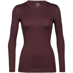 Icebreaker Womens Oasis Long Sleeve Crewe Base Layer