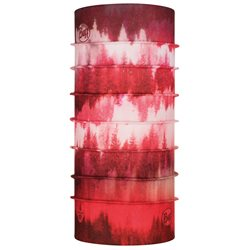 Buff ThermoNet Misty Woods Blossom Red Multifunctional Scarf
