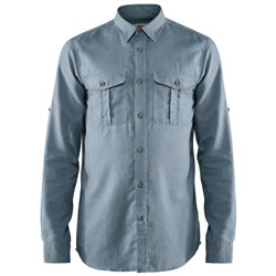 Fjallraven Mens Ovik Travel Long Sleeve Shirt