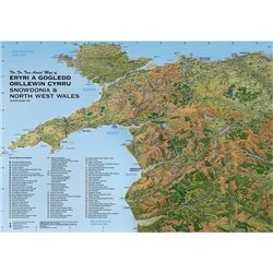Fir Tree Maps Snowdonia & North West Wales