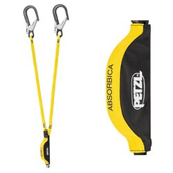 Petzl Absorbica-Y Euro 150 MGO Double Lanyard Energy Absorber