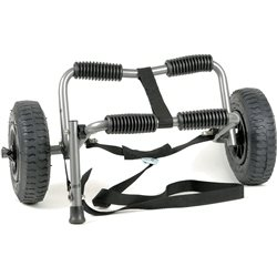 Ruk Sport  Rambler Kayak Trolley With PU Wheels and Strap Canoe / Kayak Accessory