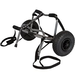 Ruk Sport  Canoe Trolley Delux With PU Wheels and Strap Canoe Accessory