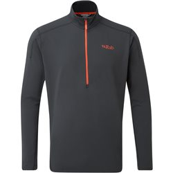Rab Mens Flux Pull-On Mid Fleece Base Layer