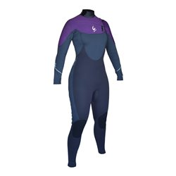 Circle One Womens DIVA 5/4/3mm GBS Chest Zip Winter Wetsuit
