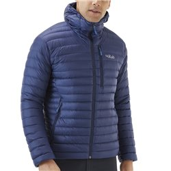 Rab Mens Microlight Alpine Insulated Jacket (Options: S Firecracker, M Firecracker, L Firecracker, XL Firecracker)
