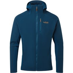 Rab Mens Capacitor Hoody Zipped Fleece