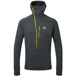 Mountain Equipment Mens Eclipse Hooded Zip T Fleece