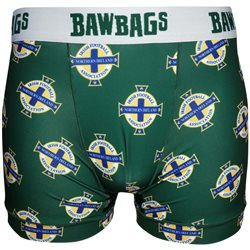 Bawbags Mens Cool De Sacs Underwear - Northern Ireland FA