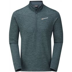 Montane Mens Protium Pull-On Half-Zip Fleece