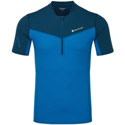 Montane Mens Dragon Zip T-Shirt Trail Running Base Layer