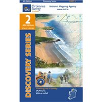 OS Ireland 02 Donegal / Millford 1:50000 Map