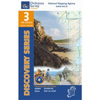 OS Ireland 03 Donegal / Mallin Head 1:50,000 Map