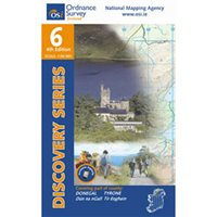 OS Ireland 06 Donegal / Letterkenny 1:50000 Map