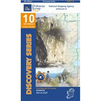 OS Ireland 10 Donegal / Killeybegs1:50000 Map