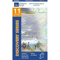 OS Ireland 11 Donegal / South 1:50000 Map
