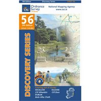 OS Ireland 56 Wicklow 1:50000 Map