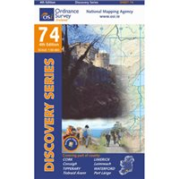 OS Ireland 74 Cork / Limerick 1:50000 Map