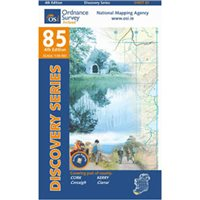 OS Ireland 85 Cork / Kerry 1:50000 Map