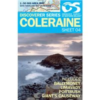 OS Northern Ireland 04 Coleraine 1:50000 Map