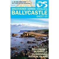 OS Northern Ireland 05 Ballycastle 1:50000 Map