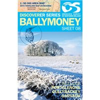OS Northern Ireland 08 Ballymoney 1:50000 Map