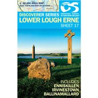 OS Northern Ireland 17 Lower Lough Erne 1:50000 Map