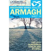 OS Northern Ireland 19 Armagh 1:50000 Map