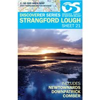 OS Northern Ireland 21 Strangford 1:50000 Map