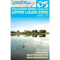 OS Northern Ireland 27 Upper Lough Erne 1:50000 Map