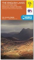 Ordnance Survey OL7 English Lakes SE 1:25 000