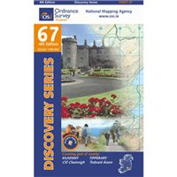 OS Ireland 67 Kilkenny/Tipperary 1:50000 Map