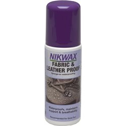 Nikwax Fabric & Leather Proof 125ml Water Proofer for Footwear