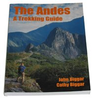 Books/Maps Trekking Guide To The Andes Book