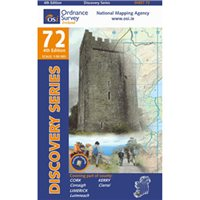 OS Ireland 72 Kerry/ Cork 1:50 000