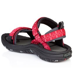 Source Womens Gobi Walking / Hiking Sandals (Options: EU 37 Tribal Red, EU 38 Tribal Red, EU 39 Tribal Red, EU 41 Tribal Red, EU 42 Tribal Red, EU 40 Tribal Red)