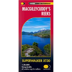 Harvey Maps McGillycuddy's Reeks Superwalker