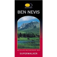 Harvey Maps Ben Nevis Superwalker Map