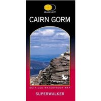 Harvey Maps Cairn Gorm Superwalker Map