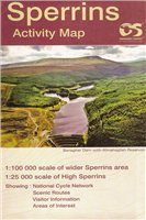 OS Northern Ireland Sperrins 1:25000 Laminated Map