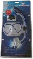Typhoon Pro Small Dive Mask & Snorkel Set