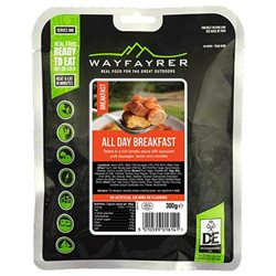 Wayfayrer Food All Day Breakfast Ready To Eat Backpacking Food